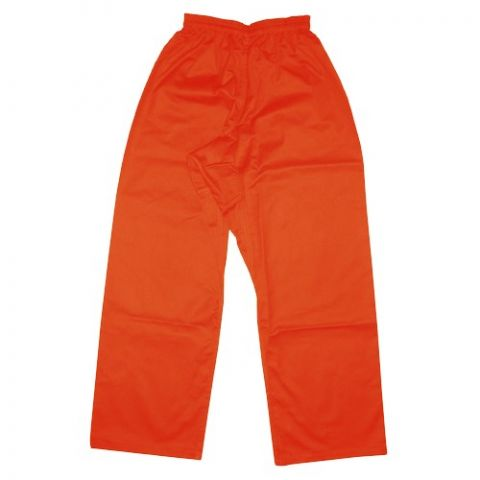 Pantalon de Kung-Fu Fuji Mae - Orange