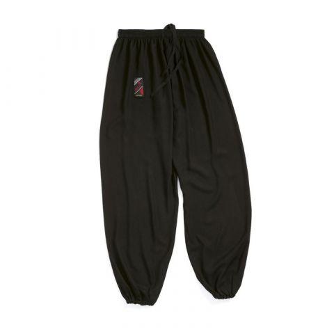 Pantalon de Tai Chi Fuji Mae - Noir