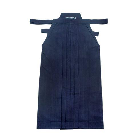 Hakama Fuji Mae - Coton lourd - Bleu nuit