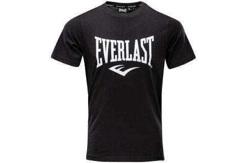 T-Shirt Everlast Moss - Noir/Blanc