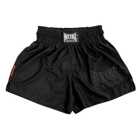 Short de Muay Thai Blacklight Metal Boxe