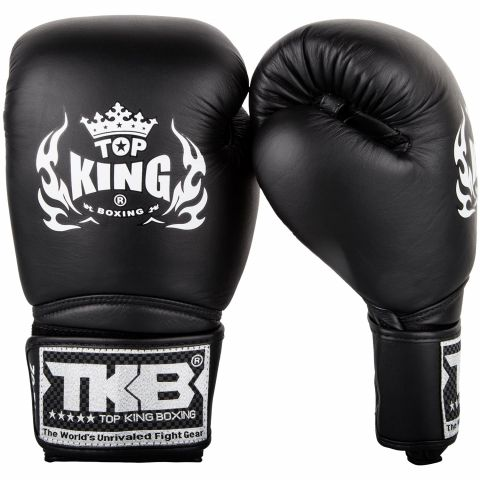 Gants de boxe Top King Super Air - Noir