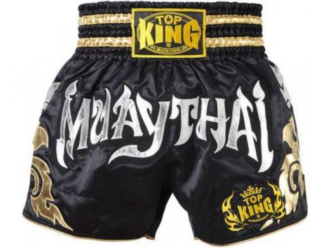 Short Muay Thai Top King - Noir