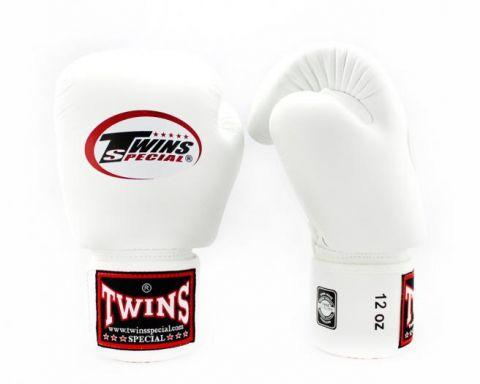 Gants de boxe Twins BGVL-3 - Blanc/Noir