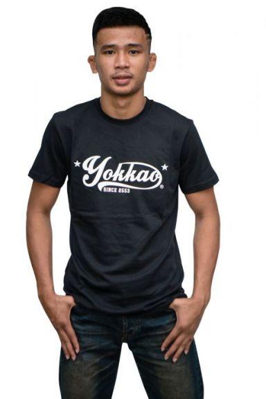 T-shirt Yokkao Vertigo - Noir