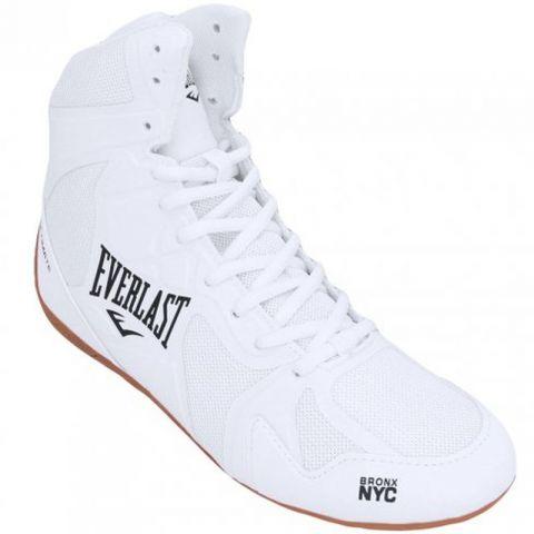 Chaussures de boxe hautes Everlast Ultimate - Blanc