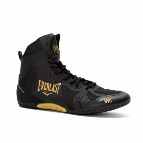 Chaussures de boxe hautes Everlast Ultimate - Noir/Argent