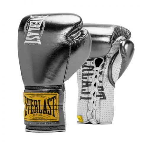 Gants de boxe Everlast 1910 - Noir Métallique