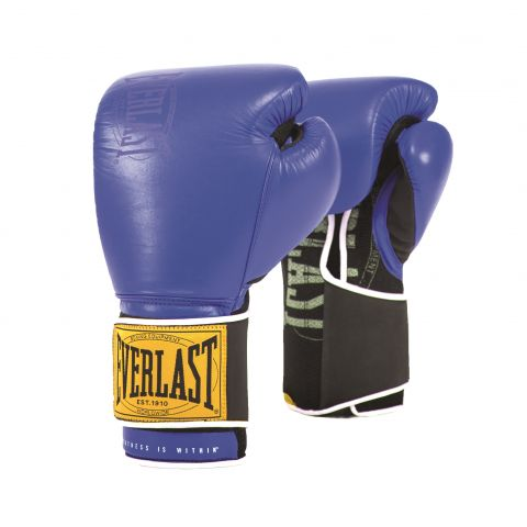 Gants de boxe Everlast 1910 Training - Bleu