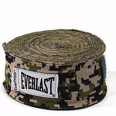 Bandages de boxe Everlast - Camo - 2,5 mètres