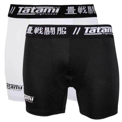 Pack de 2 boxers Tatami Fightwear Grappling - (Noir et Blanc)