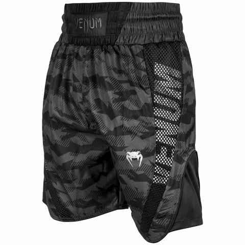 Short de boxe Venum Elite - Urban Camo/Noir