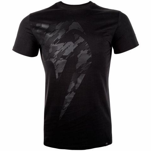T-shirt Venum Tecmo Giant - Noir/Noir