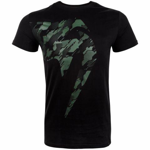 T-shirt Venum Tecmo Giant - Noir/Kaki