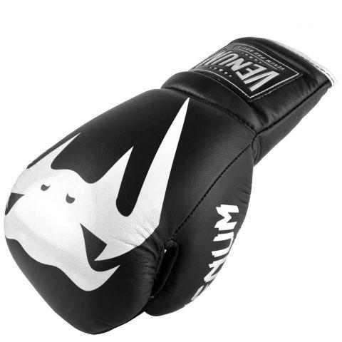 Gants de boxe pro Venum Giant 2.0 - Avec Lacets - Noir/Blanc