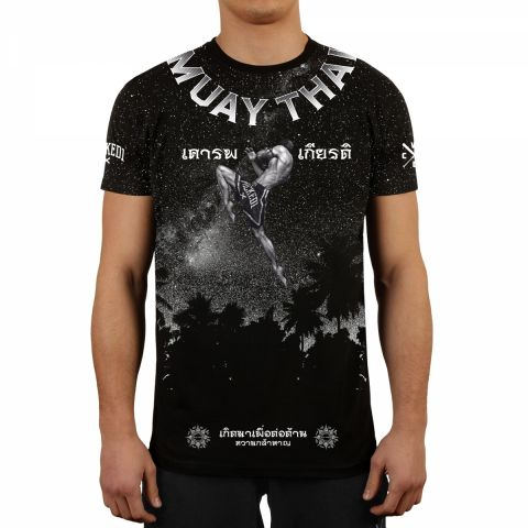 T-shirt Wicked One Galaxy - Noir