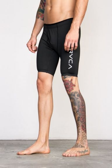 Short de compression RVCA Noir
