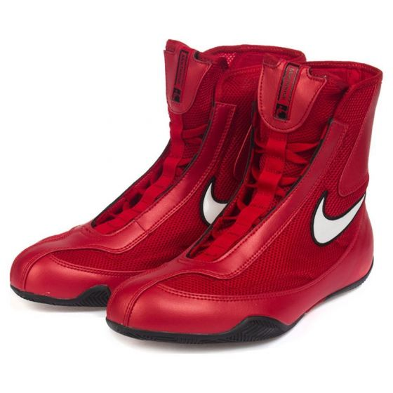 Chaussures de boxe Nike semi-montantes Machomai - Rouge