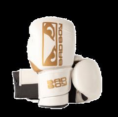 Gants de Boxe Zeus Bad Boy - Blanc/Or