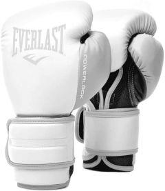 Gants de Boxe Everlast Powerlock 2 - Blanc