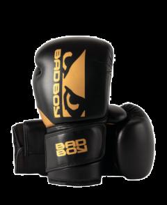 Gants de Boxe Zeus Bad Boy - Noir/Or