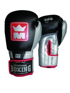 Gants de Boxe Montana Energy Race - Noir/Argent