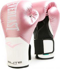 Gants de Boxe Everlast Elite Pro Style Elite - Rose/Blanc