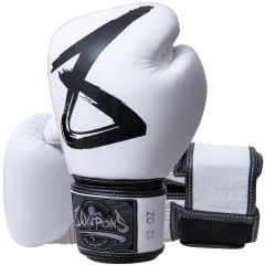 Gants de Boxe 8 Weapons Big 8 Premium - Blanc