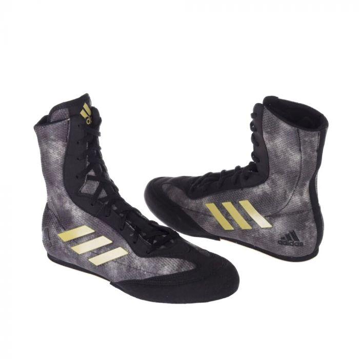Chaussures de boxe Adidas Box Hog Plus NoirDoré