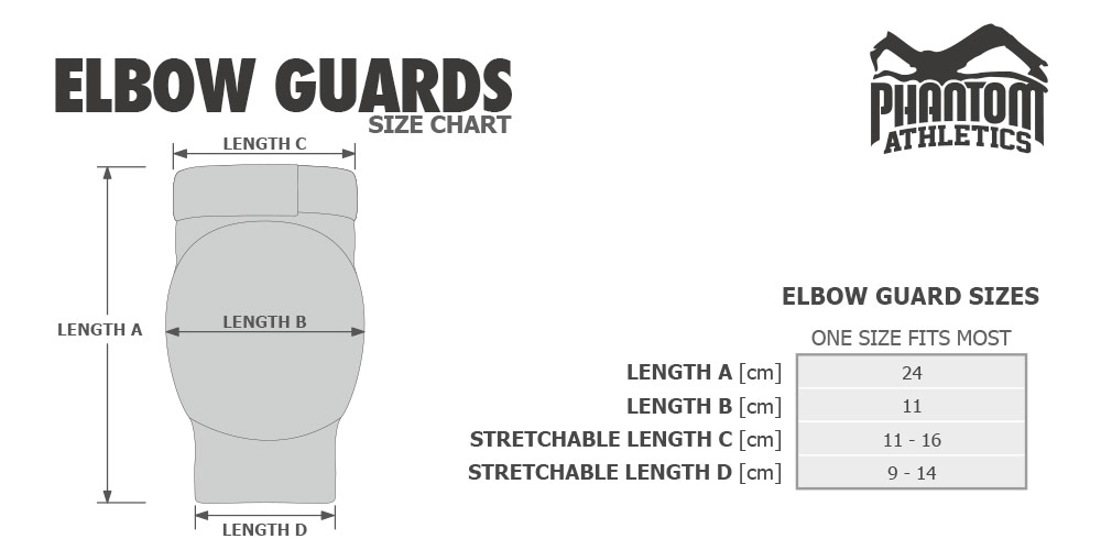 Guide des tailles Phantom Athletics